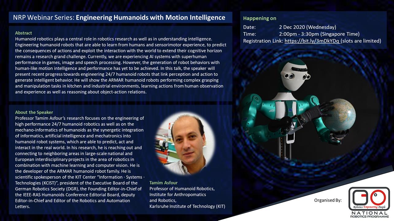 Engineering Humanoids with Motion Intelligence