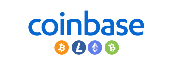 Coinbase Accepted Here Logo