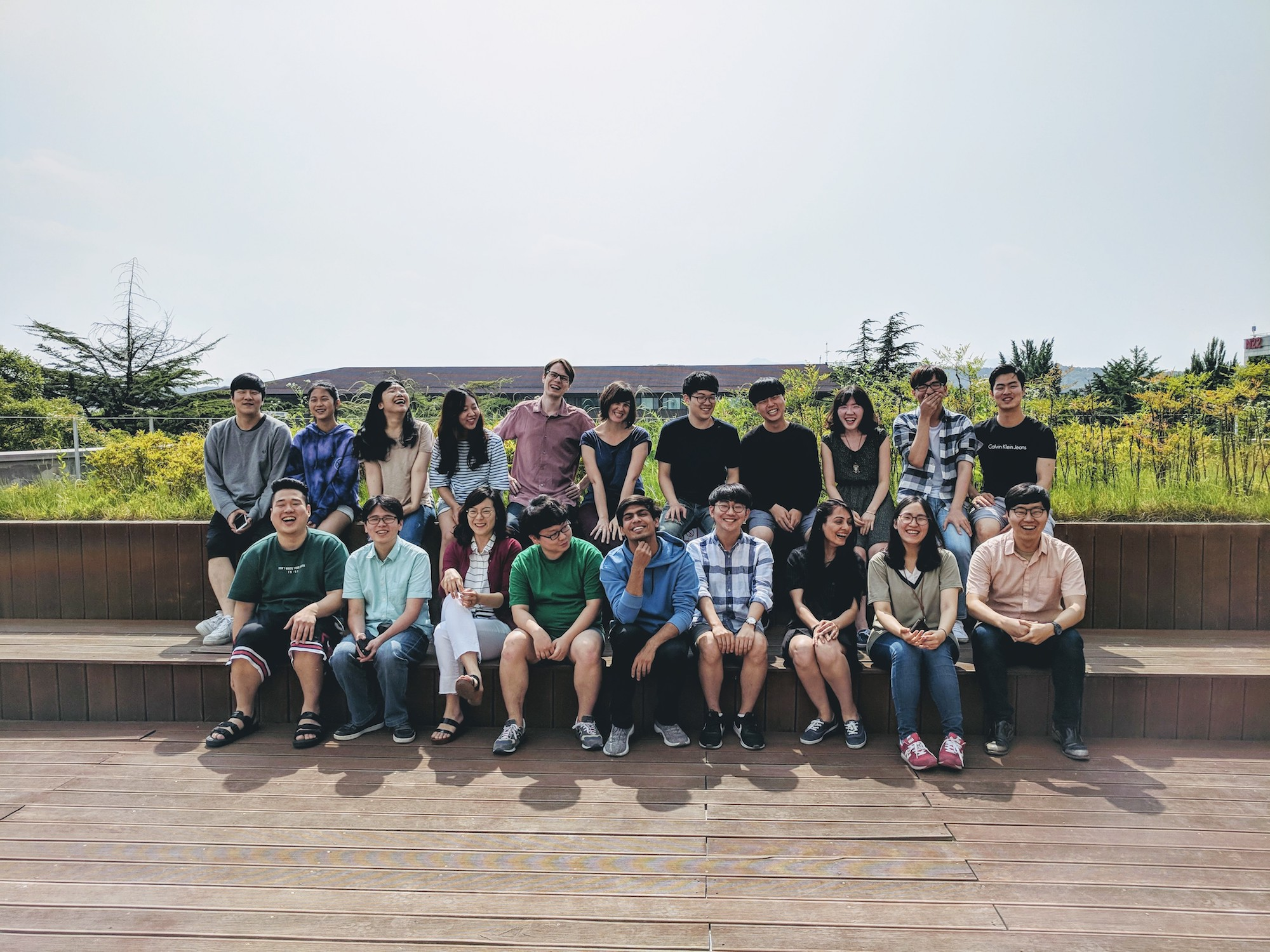 Photo of KIXLAB group, June, 2018