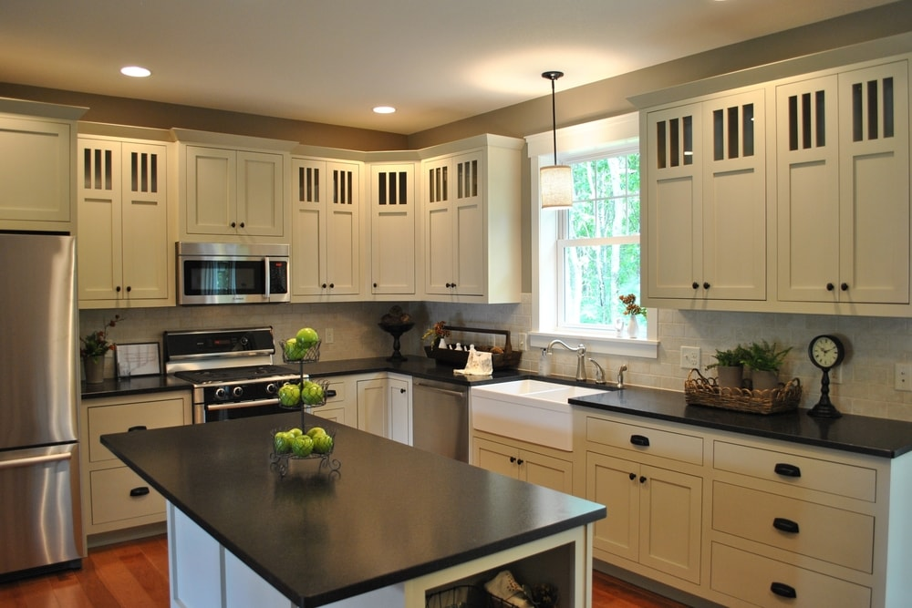 Genial Black Pearl Granite Countertops