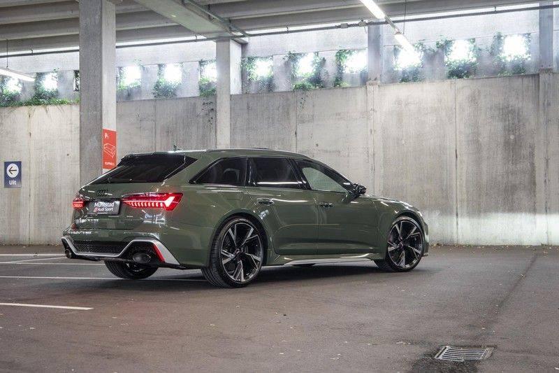 Audi RS6 Avant TFSI 600 pk quattro | 25 jaar RS Package | Dynamic Plus pakket | Keramische Remschijven | Audi Exclusive Lak | Carbon | Pano.dak | Assistentiepakket Tour & City | 360 Camera | 280 km/h afbeelding 12