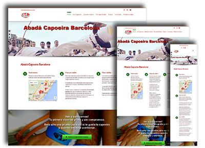 Web Abadá Capoeira BCN