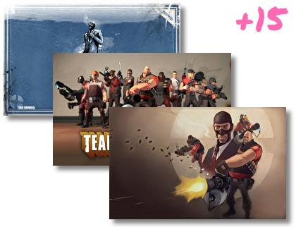 Team Fortress 2 theme pack