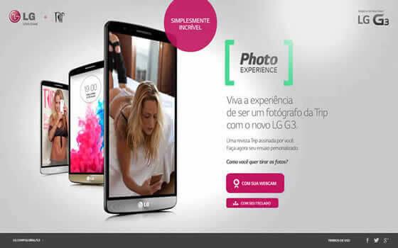 Photo Experience | LG G3 + Revista TRIP | LG G3 + Revista TPM