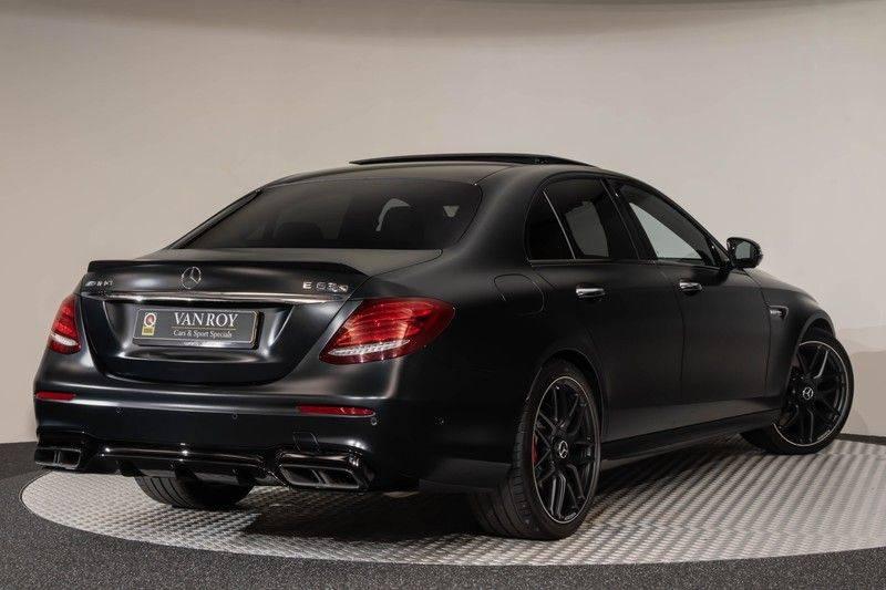 "Mercedes-Benz E-Klasse E63s AMG EDITION 1 4Matic 612pk (MAGNO MAT) Panoramadak Distronic Nightpakket Schaalstoelen Burmester Carbon ComandOnline Keyless 20"" Parktronic Pdc afbeelding 8"