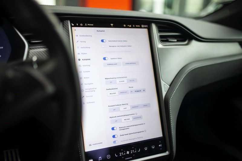 "Tesla Model S 100D Performance *Verb. Autopilot / 21"" LM / Pano* afbeelding 13"