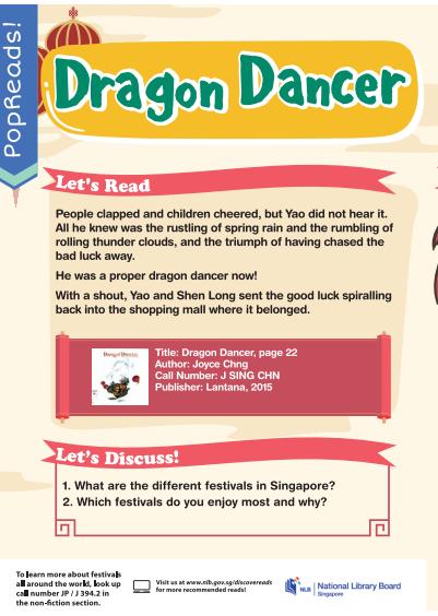 Dragon Dancer PopReads!