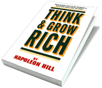 Think and Grow Rich book cover.