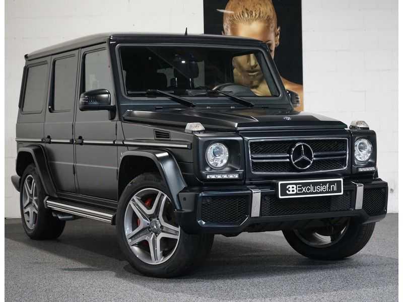 Mercedes-Benz G-Klasse 65 AMG DESIGNO MAGNO NIGHT BLACK afbeelding 1