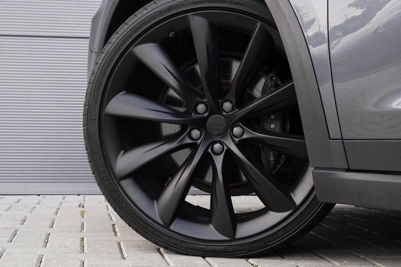 """Tesla Model X 100D Excl. BTW Luchtvering, Autopilot Leer 4% bijt. 22"""" afbeelding 14"""