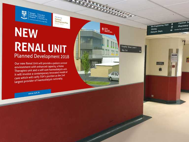 new renal unit notice