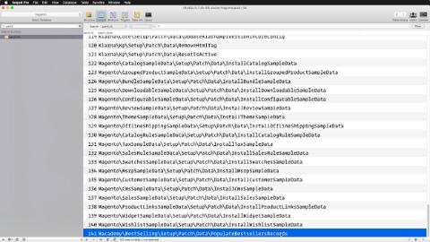 Populating database updates