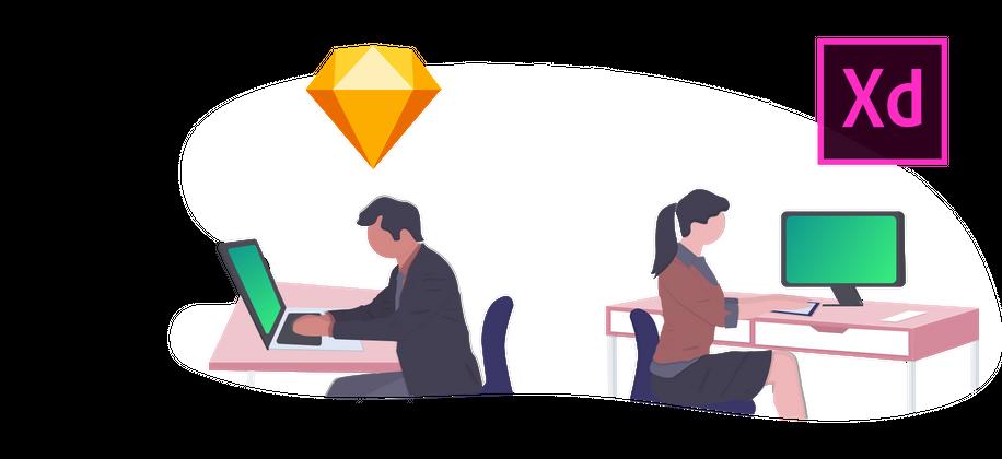 Header of UI / UX Design