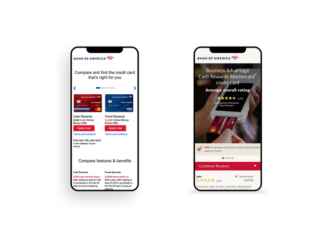 Mobile screenshots of checing advantage pagws