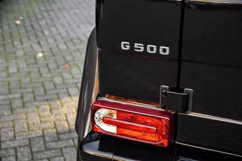 Mercedes-Benz G-Klasse G500 4x4² CARBON+SCH.DAK+AMG RIDE CONTROL afbeelding 22