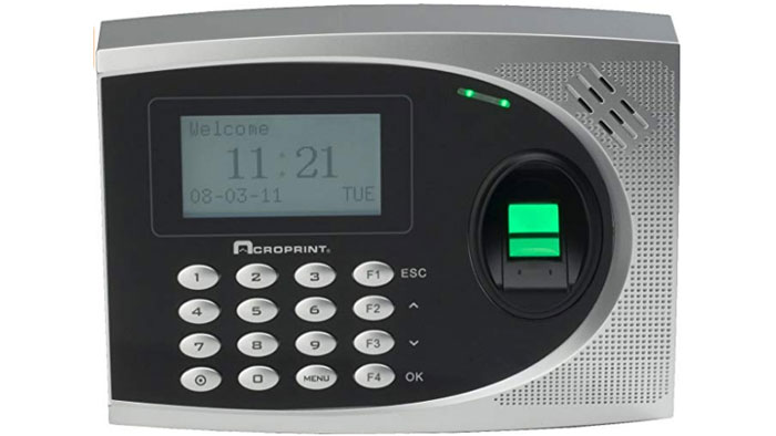 Acroprint TimeQplus biometric terminal