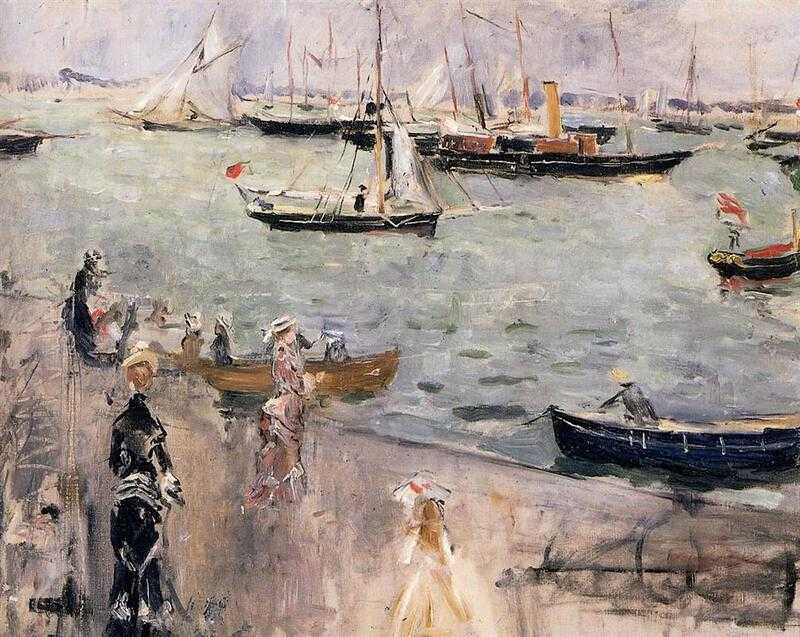 'The Isle of Wight' by Berthe Morisot (1875)
