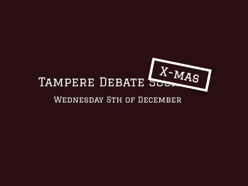 Tampere Debate Society XMAS Party 2018