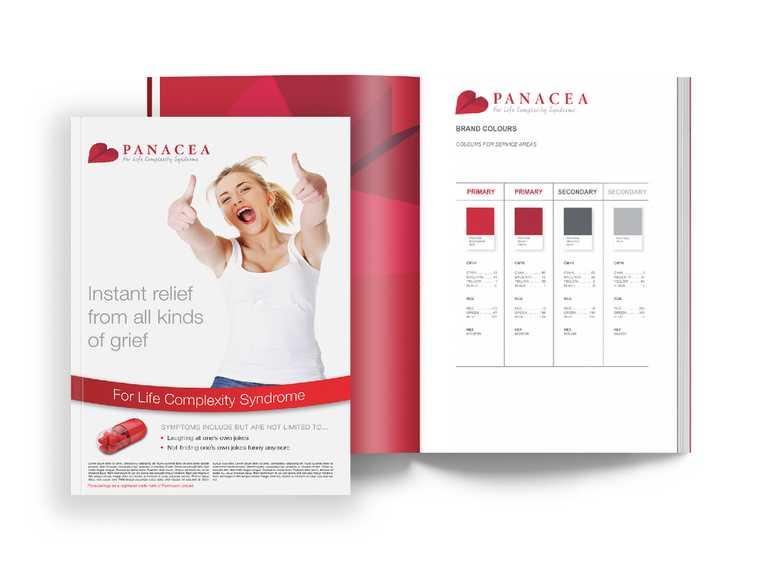 print advertisement for panacea