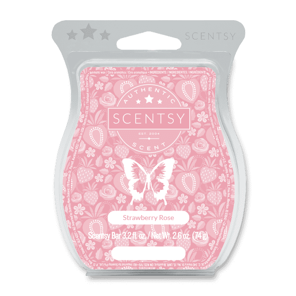 Picture of Strawberry Rose Scentsy Bar