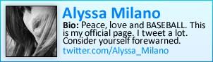 Alyssa Milano on Twitter