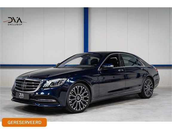 Mercedes-Benz S-Klasse 560e Lang Premium Plus Burmester/Distronic/Memory/Dealer-onderhouden