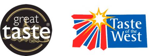 Great Taste & Taste of the West award logos