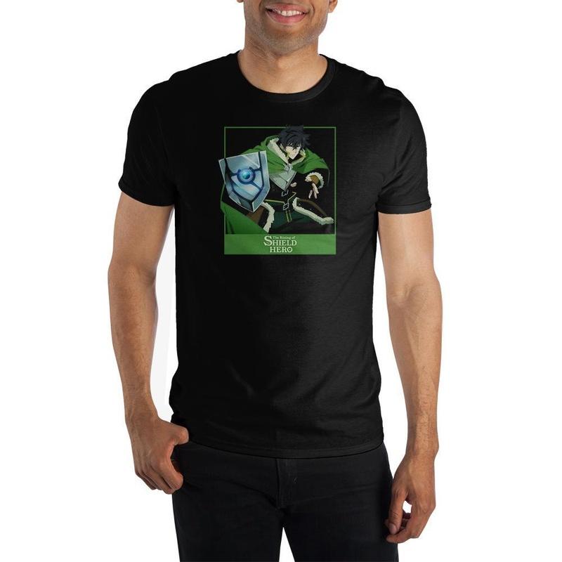 The Rising of the Shield Hero Black T-shirt Wear