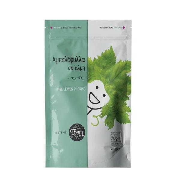 Vine leaves in brine - 550 g - Edem