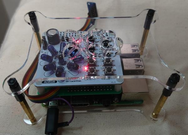 ラズパイとBME280ブレイクアウト基板と赤外線学習リモコン基板を組み合わせて環境測定と家電を操作する。 cover image