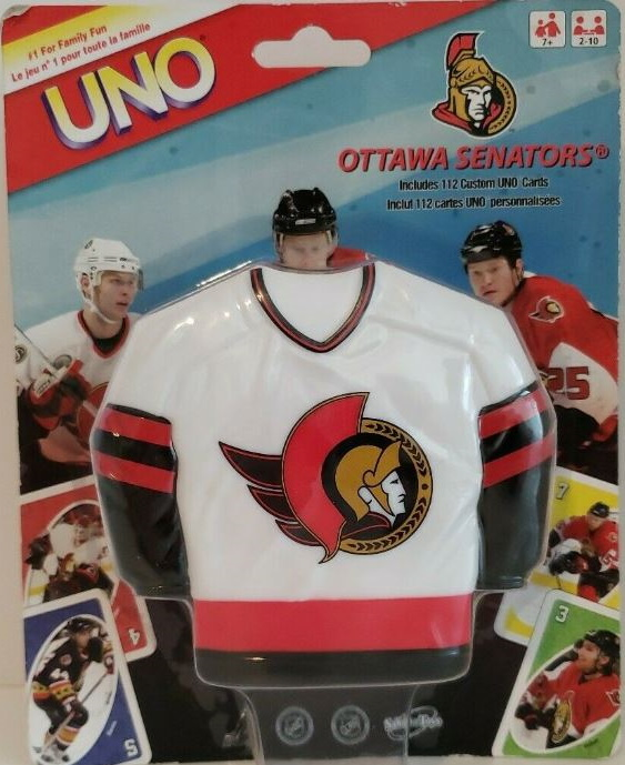 NHL Ottawa Senators Uno