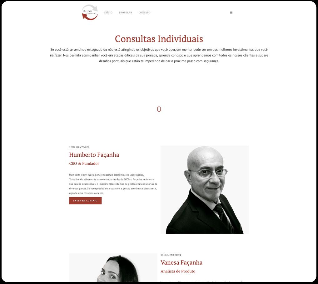 Página Consultas