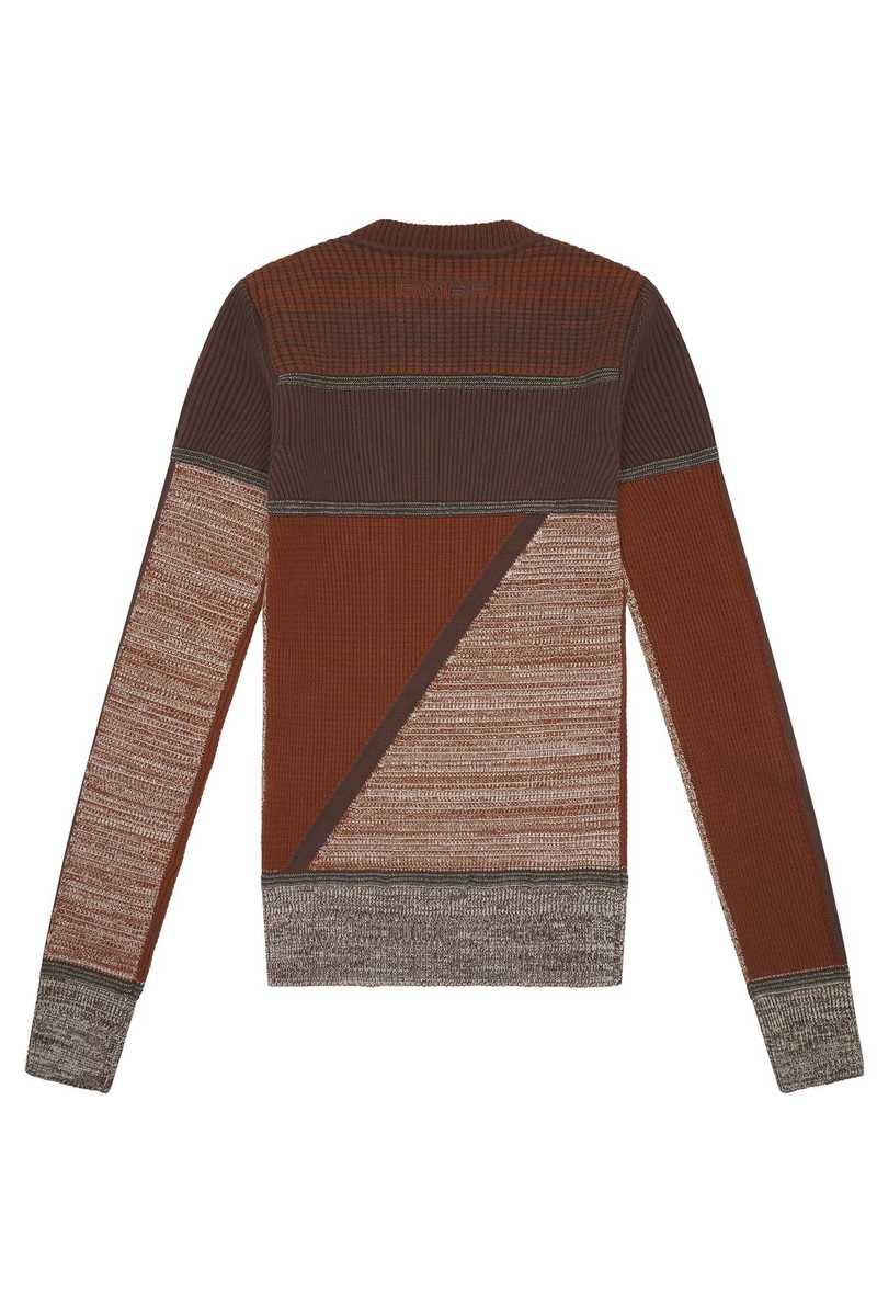 Lyron knit top brown AW21