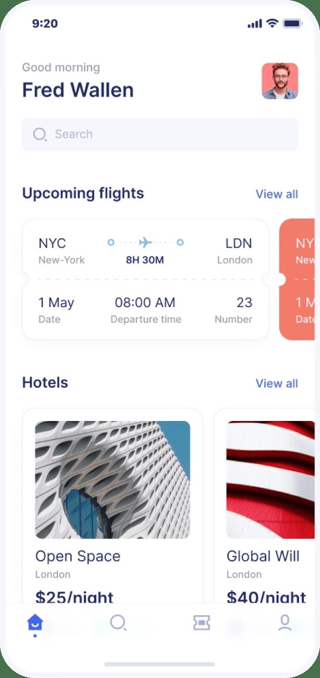 Travel fare aggregator | Codempire