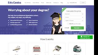 edugeeksclub.com main page