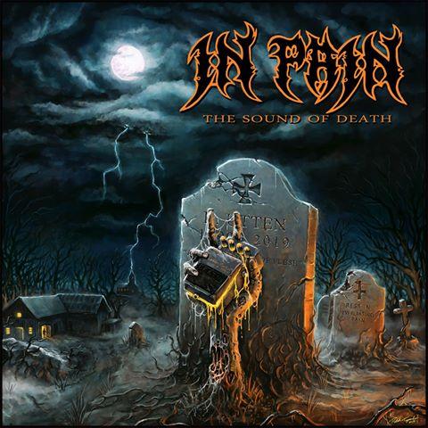 Chainsaw Design | Artwork | Artwork for In Pain's album