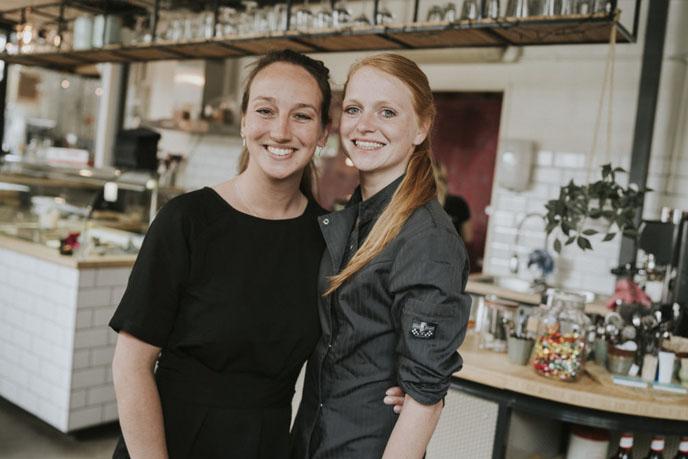 Saskia Zwijsen  en Martine van Leeuwen
