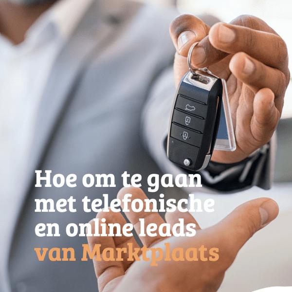 E-book: Hoe om te gaan met telefonische en online leads van Marktplaats