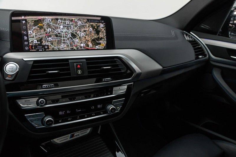 "BMW X3 M40i xDrive 340pk Panoramadak VirtualCockpit ShadowLine Sportleder+Memory Head-Up ACC Harman/Kardon AmbientLight Keyless 20"" 360Camera ParkAssist Pdc afbeelding 22"