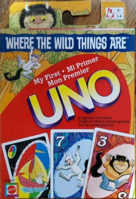 Where the Wild Things Are My First Uno