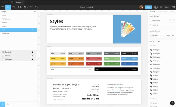 Our shared Design Team Figma Library