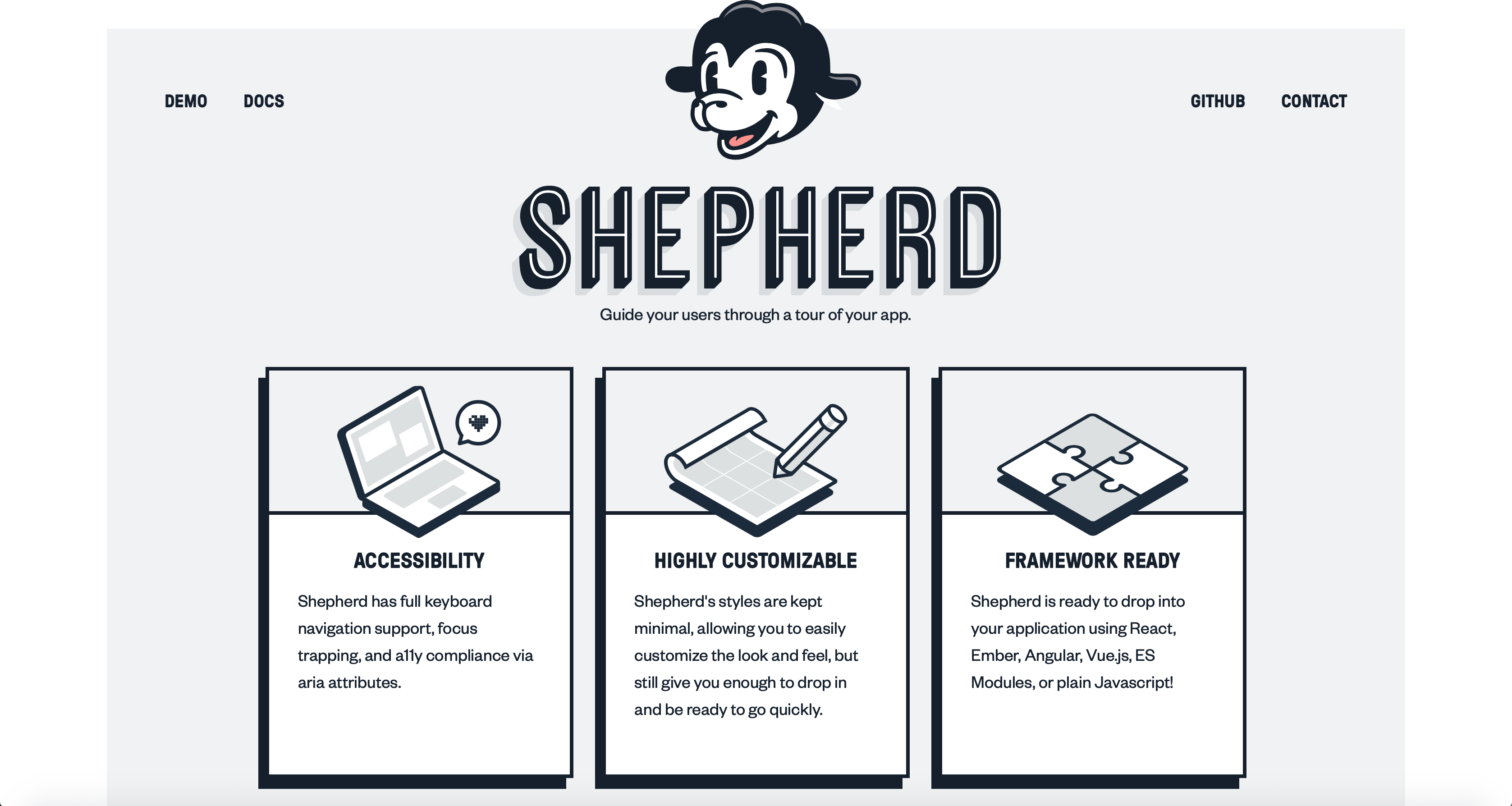 Image of Latest Shepherd Website
