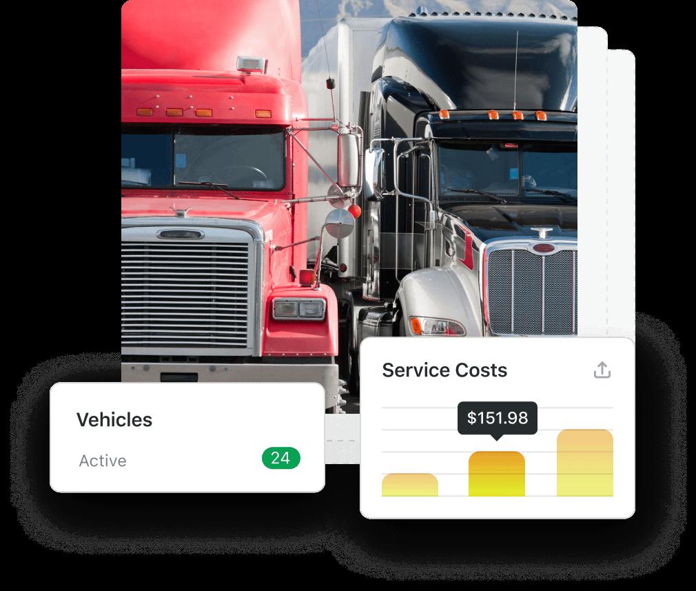 Trucking header