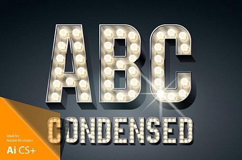 3d Condensed Lampboard alphabet 3D-condense-black-typefaces-aphabet_1.jpg