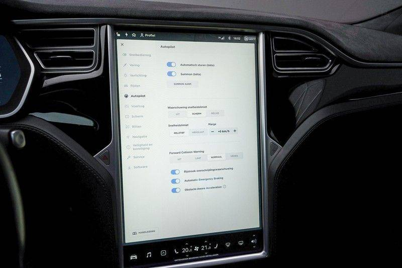 Tesla Model S 85D Performance 700pk Free Charging Pano Leer afbeelding 22