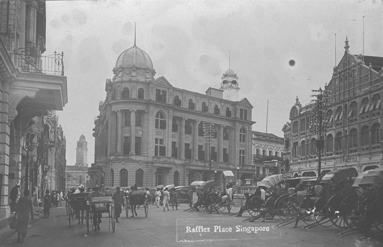 Raffles Place, 1920s