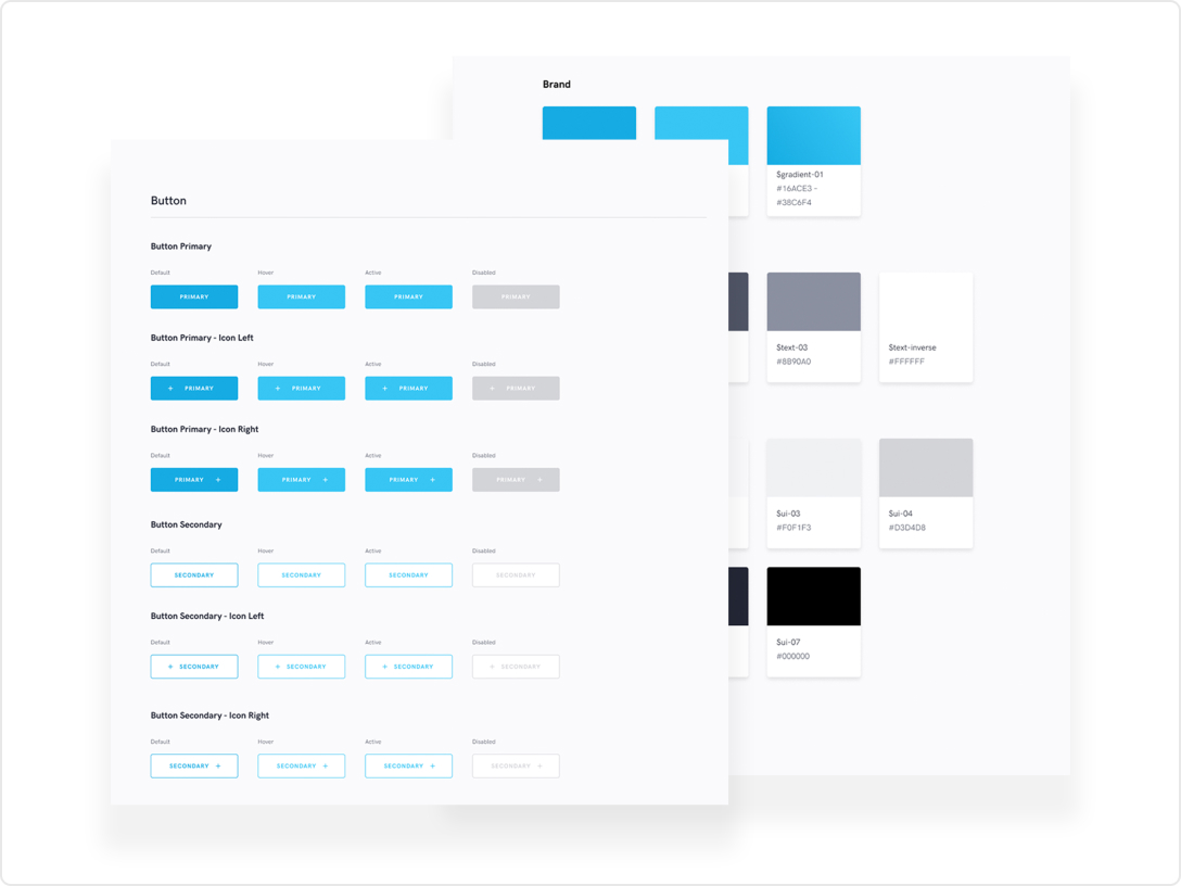 A preview of the design library