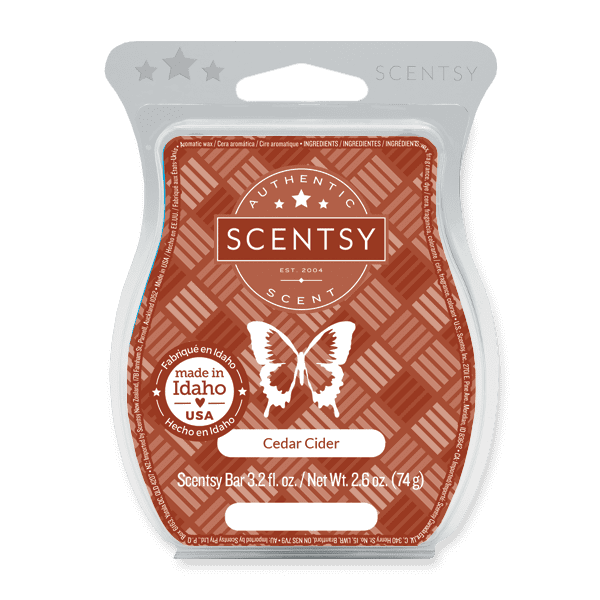Cedar Cider Scentsy Bar