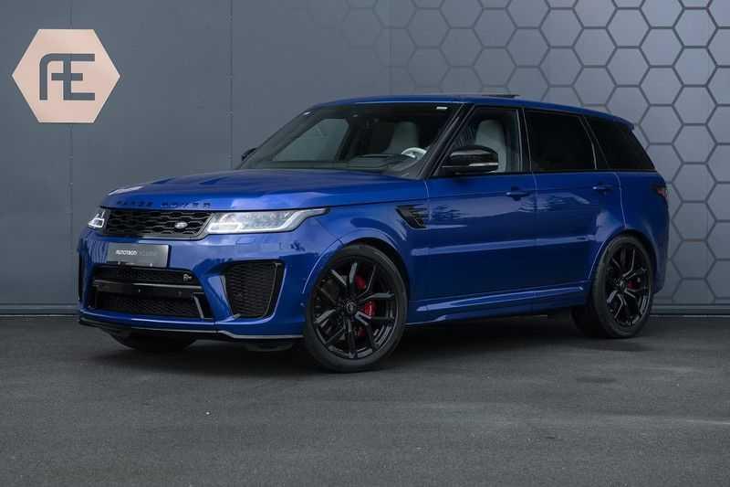 "Land Rover Range Rover Sport P575 SVR Carbon SVR motorkap + Drive Pro Pack + Panoramadak + 22"" + Stoelkoeling + Head-Up + Stuurwielverwarming + Carbon interieur afbeelding 1"