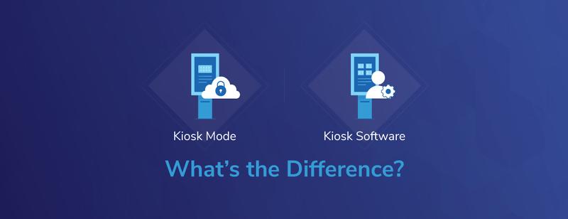 Android Kiosk Mode vs. Kiosk Software